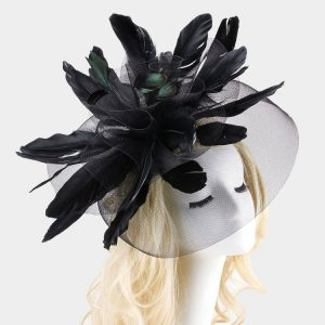 Double Mesh Fascinator Headband