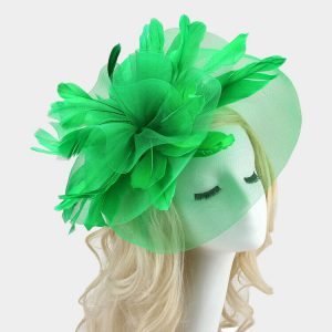 Double Mesh Fascinator Head band