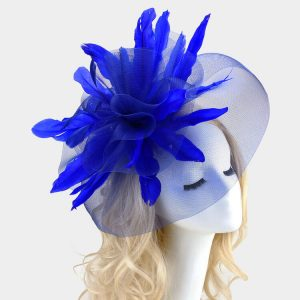 Royal Blue Fascinator Head Band