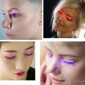 LED Fun Party Eyelashes