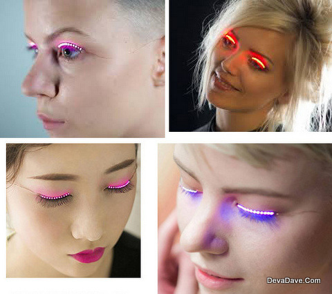 LED Fun Party Eyelashes