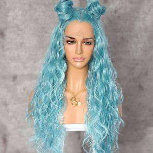 Kanekalon Fibre Lacefront Wig