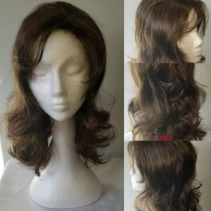Synthetic Wig Tawny