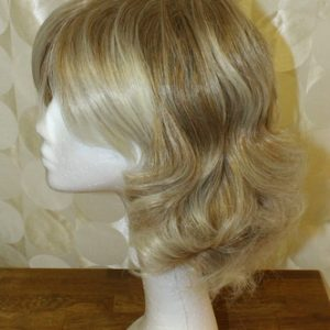 Beige Blond Synthetic Wig