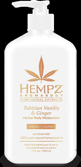 Tahitian Vanilla and Ginger Herbal Body Moisturiser